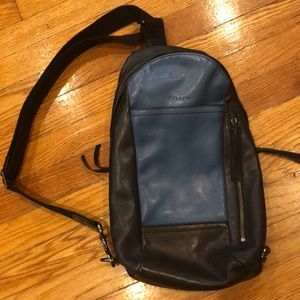Coach Sling Pack Backpack